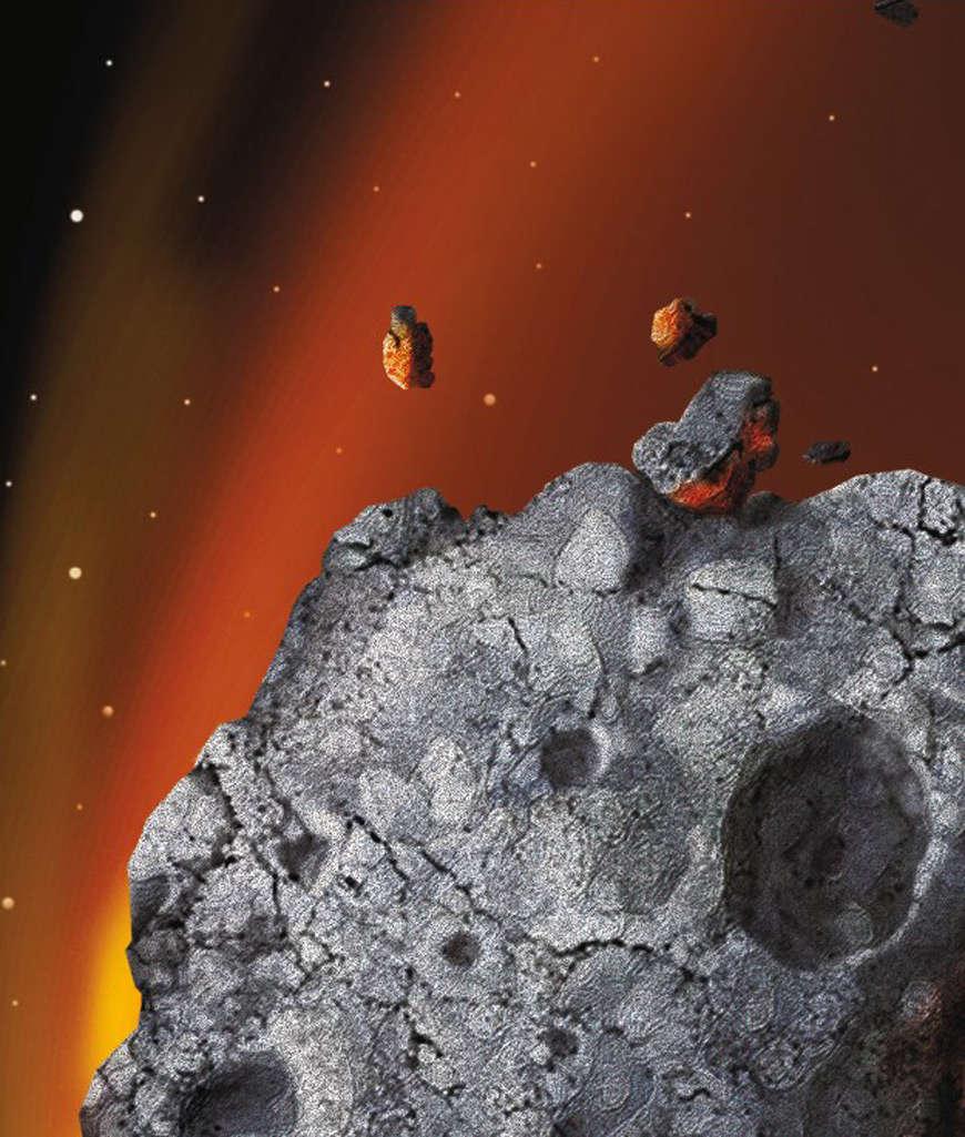 правило, шерстяные фото поверхности комет и астероидов глюк